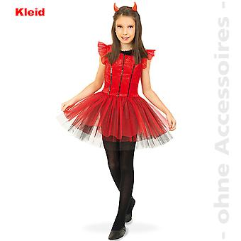 Bebé niña de diablo disfraz de Satanás diablo bailarina para niños disfraces de Halloween