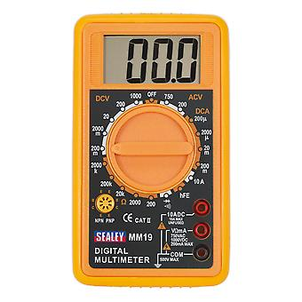 Sealey Mm19 Digital Multimeter 7 Function