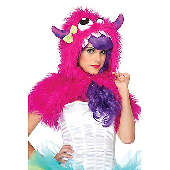 Mega Monster Furry Shrug Hat