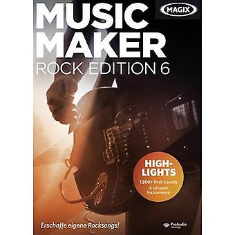Magix Music Maker Rock Edition 6 Full version, 1 license Windows Music