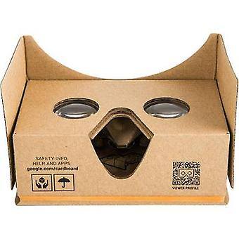 BasetechHeadmount Google 3D VRBrownVR glassesGoogle bordo di carta