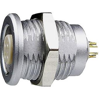 Yamaichi YCP-BWA12ACX-10FSCBX-000X Bullet connector Socket, build-in Series (connectors): YCP Total number of pins: 10 1