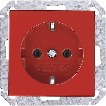 Sygonix Insert PG socket SX.11 Red