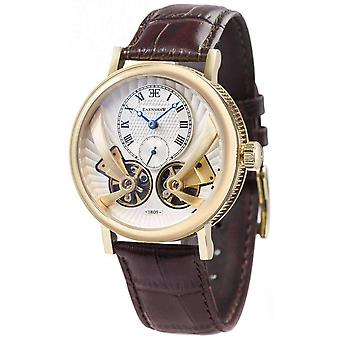 Thomas Earnshaw The Beaufort Anatolia Watch - White/Brown/Gold