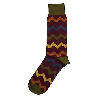 40 Colori Auroras Organic Cotton Socks - Aubergine Purple