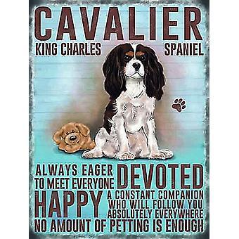 Cavalier King Charles Spaniel Fridge Magnet