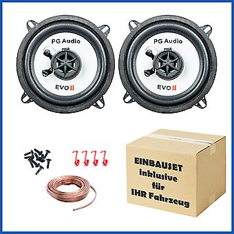 13 cm coax 2 way coax VW Golf II, speaker door front