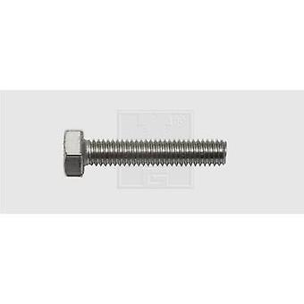 SWG Hexagon head screws M5 30 mm Hex head DIN 933 Stainless steel A2 50 pc(s)
