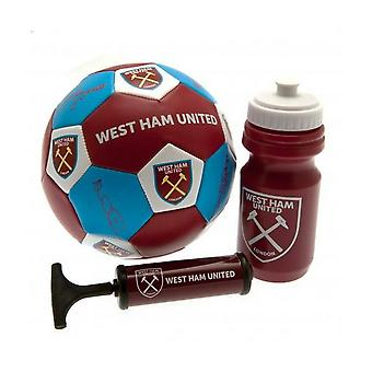 West Ham United FC Official Football Gift Set