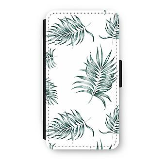 iPhone XS Flip Case - Simple leaves