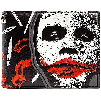 DC Dark Knight Joker Why So Serious ID & Card Bi-Fold Wallet