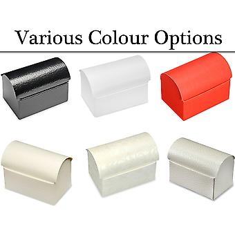 10 Chest Shape Card Gift Boxes - Wedding Party Favours