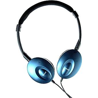 Maxell Super Thins Headphones - Blue