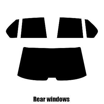 Pre cut window tint - BMW 7 Series 4-door Saloon - 1986 to 1994 - Rear windows