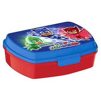 Pyjamashjältarna PJ Masks Lunch Box Blue/Red
