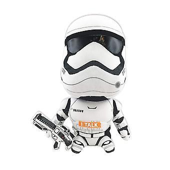 Star Wars - SW01921 - Stormtrooper, Plys figur med lyd