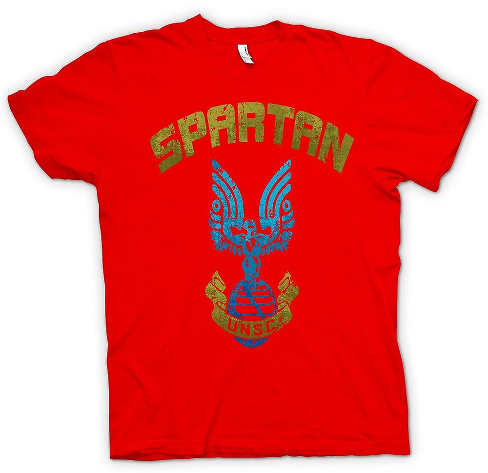 Mens T-shirt - Spartan UNSC - Gamer