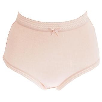 Passionelle Womens/Ladies Ribbed Pastel Cotton Briefs (Pack Of 3)