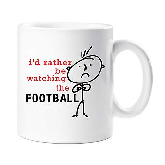 Men's I'd Rather Be Watching The Football Mug