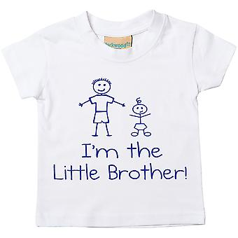 I'm The Little Brother White Tshirt