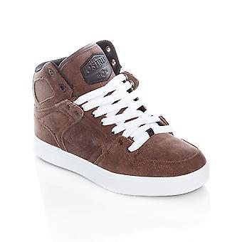 Osiris Brown-Black-White NYC83 Vulc DCN Shoe