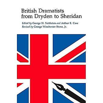 Dramaturgos británicos de Dryden a Sheridan