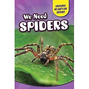 Vi behöver spindlar (varelser vi inte kan leva utan)