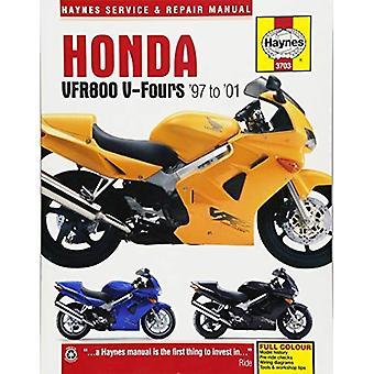 Manuel de réparation Honda VFR850 moto