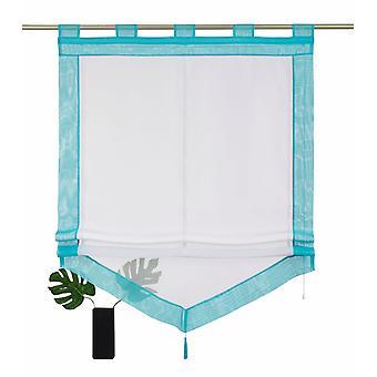 «Min hem romerska skugga» Xanten «transparent med slingor av vit blå H/W: 140/100 cm».