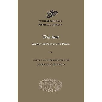Tria sunt: sztuka poezji i prozy (Dumbarton Oaks średniowiecznych biblioteki)