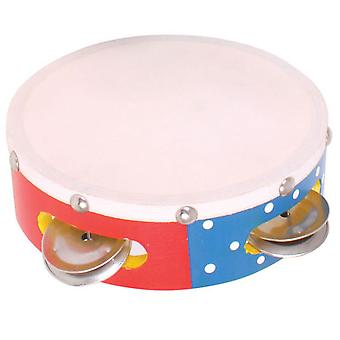 Bigjigs Toys Children's Musical Tambourine Music Instruments Educational