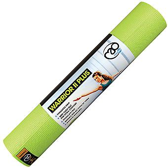 Fitness Mad Warrior II Plus Yoga Mat - 6mm -Green