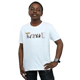 Looney Tunes garçons Sylvester couleur Code T-Shirt