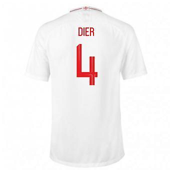 2018-2019 England Home Nike Football Shirt (Dier 4)