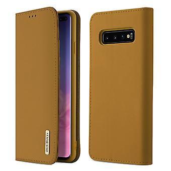 DUX DUCIS Wish Series Pouch Samsung Galaxy S10 Plus-Brown
