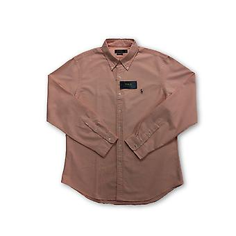 Ralph Lauren Polo slim fit shirt in pink