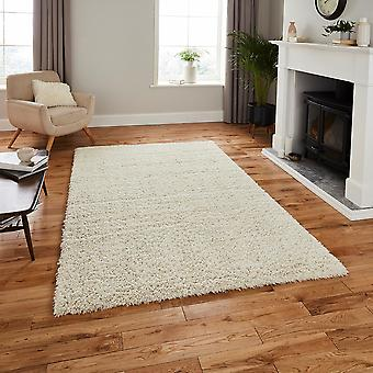 Repreve Recycled Ivory  Rectangle Rugs Plain/Nearly Plain Rugs
