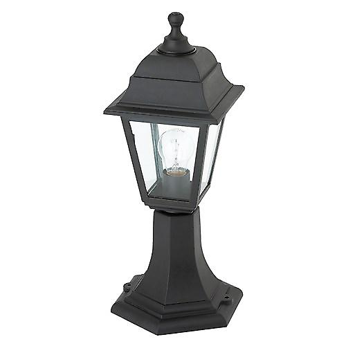 Saxby EL-40043 Pimlico IP44 60W Outdoor Pedestal Post In Black