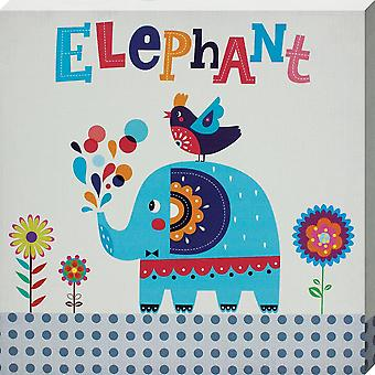 Grindstore Elephant Canvas Print