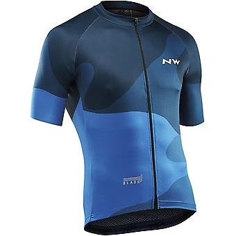 Northwave Blue Blade 4 Short Sleeved Cycling Jersey
