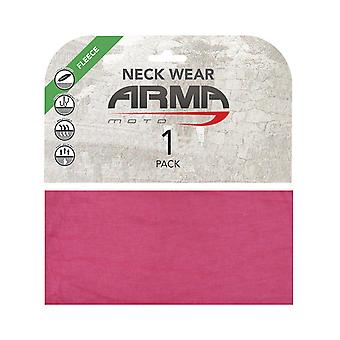 ARMR Moto Pink Winter Motorcycle Neck Warmer
