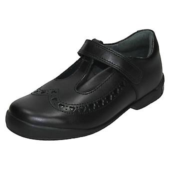 Girls Startrite T-Bar School Shoes Leapfrog