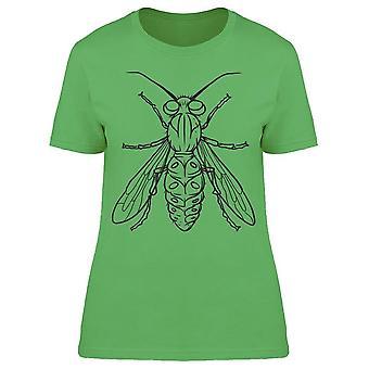 Line Art Fly Tee Women's -Image by Shutterstock