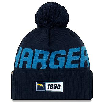 New Era Nfl Los Angeles Chargers 2019 Sideline Road Sport Knit