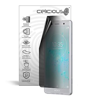 Celicious Privacy Lite 2-Way Anti-Glare Anti-Spy Filter Screen Protector Film Compatible with Sony Xperia XZ2 Compact
