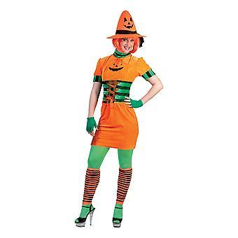 Pumpkin Dress Pumpkin Costume Women's Halloween Women's Costume Carnival Thanksgiving