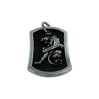 Pendant with chain Stainless Steel Christian Audigier Panther