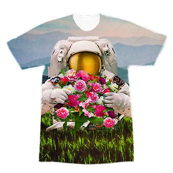 Échapper à l'univers premium sublimation t-shirt adulte