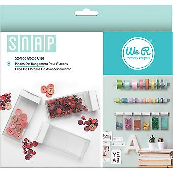 Snap Storage Bottle Clips 3/Pkg-  662591