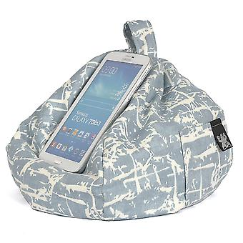 iBeani iPad, Tablet & eReader Bean Bag Stand / Cushion - Spitalfields Denim